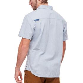 Black Diamond Chambray Modernist SS Shirt Men Blue Steel